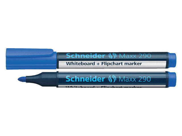 VILTSTIFT SCHNEIDER 290 WHITEBOARD ROND 2-3MM BLAUW