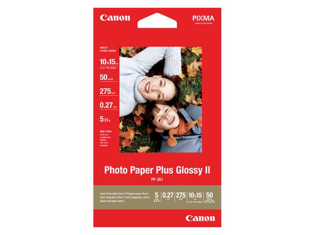 FOTOPAPIER CANON PP-201 10CMX15CM 260GR GLANS