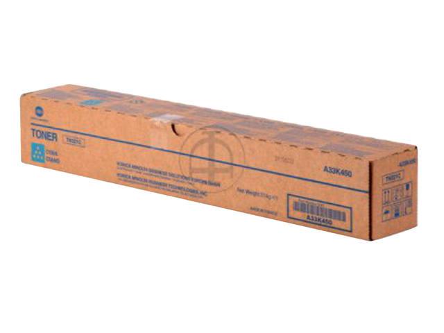 TONERCARTRIDGE MINOLTA TN-321C 25K BLAUW