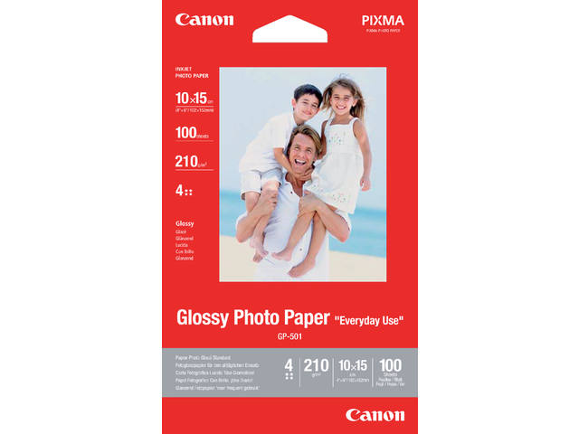 FOTOPAPIER CANON GP-501 10CMX15CM 210GR GLANS