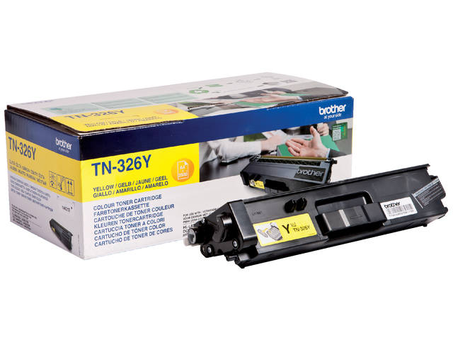 TONER BROTHER TN-326 3.5K GEEL 1