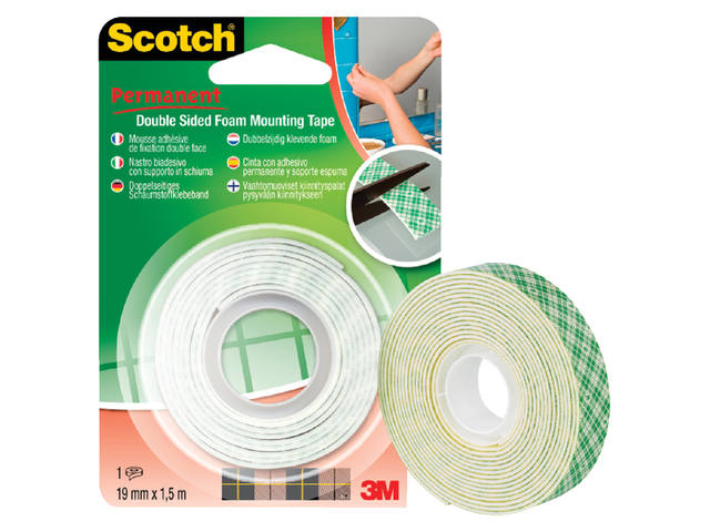 PLAKBAND 3M SCOTCH 4016 19MMX1.5M 2Z