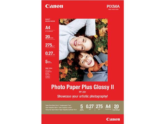 FOTOPAPIER CANON PP-201 A4 275GR GLANS