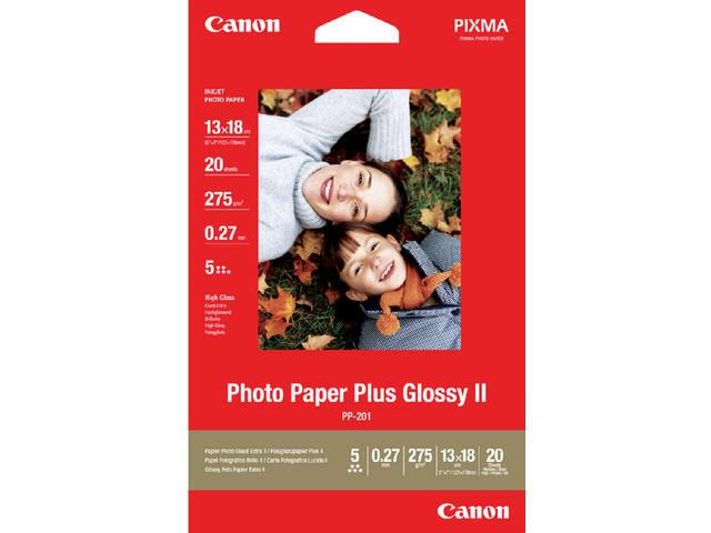 FOTOPAPIER CANON PP-201 13CMX18CM 260GR GLANS 1
