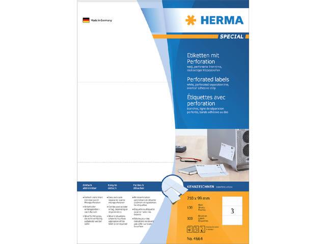 ETIKET HERMA 4664 210X99MM 300ST 2