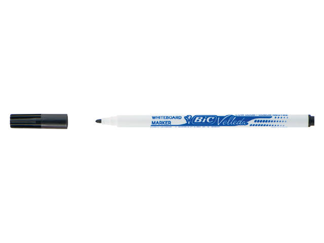 VILTSTIFT BIC 1721 WHITEBOARD ROND 1.5MM ZWART