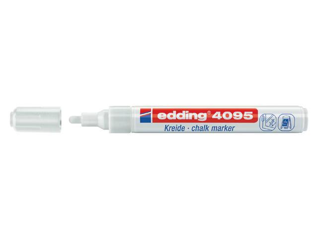 KRIJTSTIFT EDDING 4095 ROND 2-3MM WIT