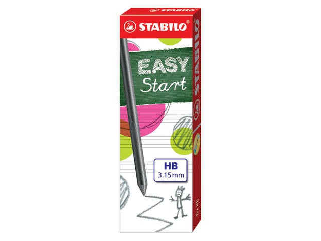 POTLOODSTIFT STABILO EASY ERGO 3.15MM HB