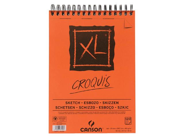 CANSON CROQUIS XL BLOK SCHETSPAPIER A4 90 GRAMS