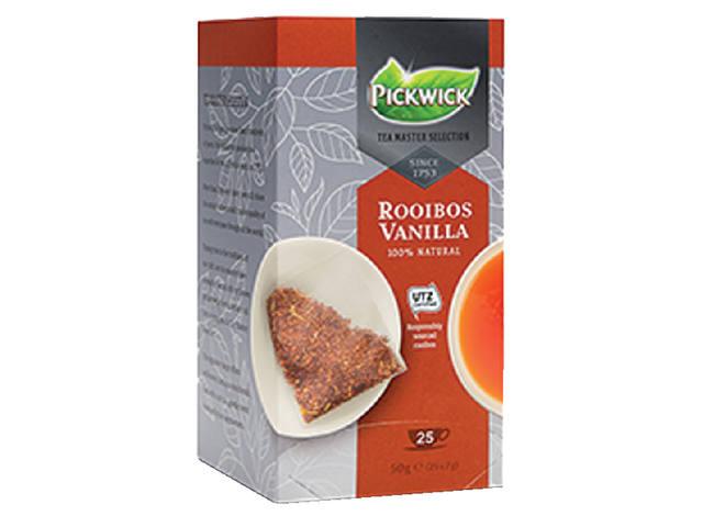 THEE PICKWICK TEA MASTER SEL ROOIBOS VANILLA 2GR