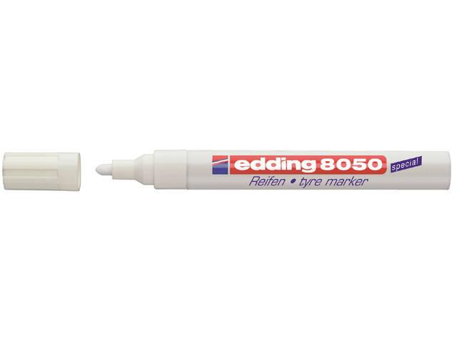 VILTSTIFT EDDING 8050 BANDEN ROND 2-4MM WIT
