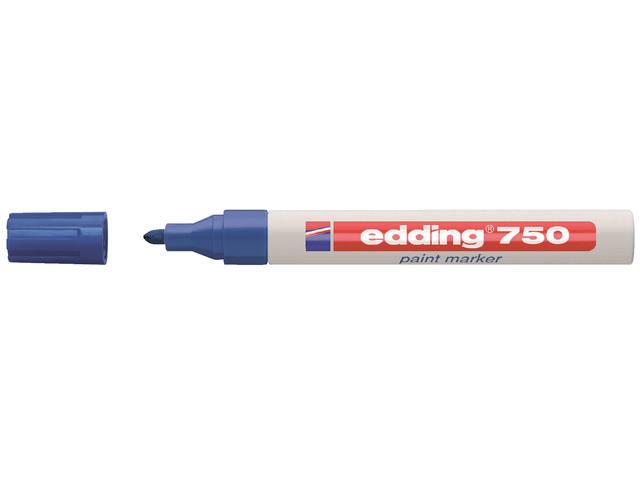 VILTSTIFT EDDING 750 LAK ROND 2-4MM BLAUW