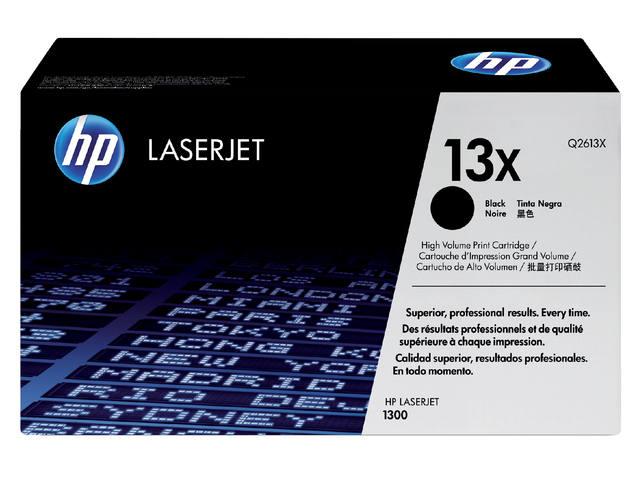 TONERCARTRIDGE HP 13X Q2613X 4K ZWART 1