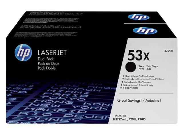 TONERCARTRIDGE HP 53X Q7553XD 7K ZWART 1