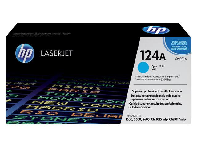 TONERCARTRIDGE HP 124A Q6001A 2K BLAUW
