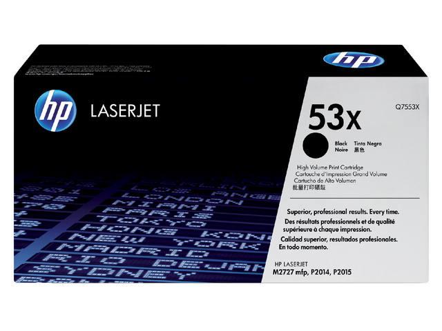 TONERCARTRIDGE HP 53X Q7553X 7K ZWART