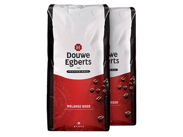 KOFFIE DOUWE EGBERTS ROODMERK BONEN 3000GR