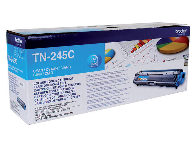 TONER BROTHER TN-245 2.2K BLAUW