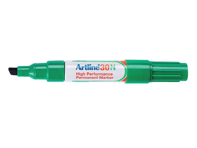 VILTSTIFT ARTLINE 30 SCHUIN 2-5MM GROEN 1