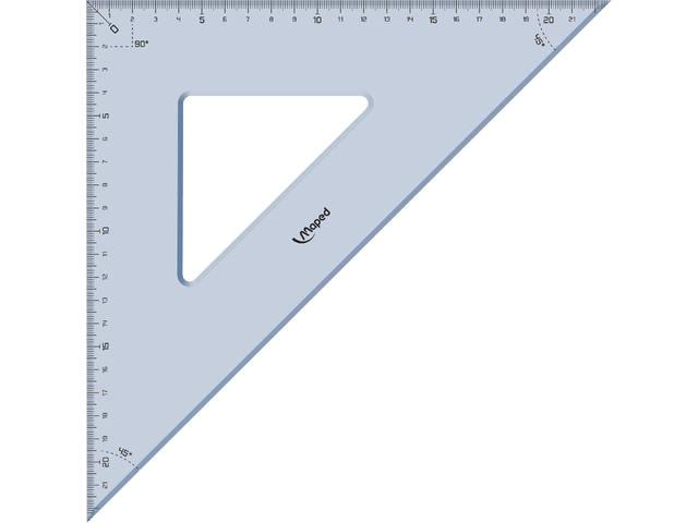 GEODRIEHOEK MAPED 45GR 32CM 2