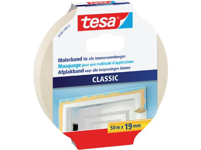 AFPLAKTAPE TESA 19MMX50M CLASSIC CREME