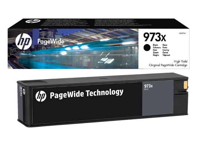 INKCARTRIDGE HP 973X L0S07AE ZWART 1