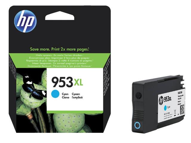 INKCARTRIDGE HP 953XL F6U16AE HC BLAUW 1