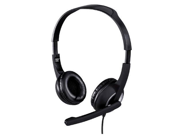HEADSET HAMA HS300 PC ON EAR ZWART