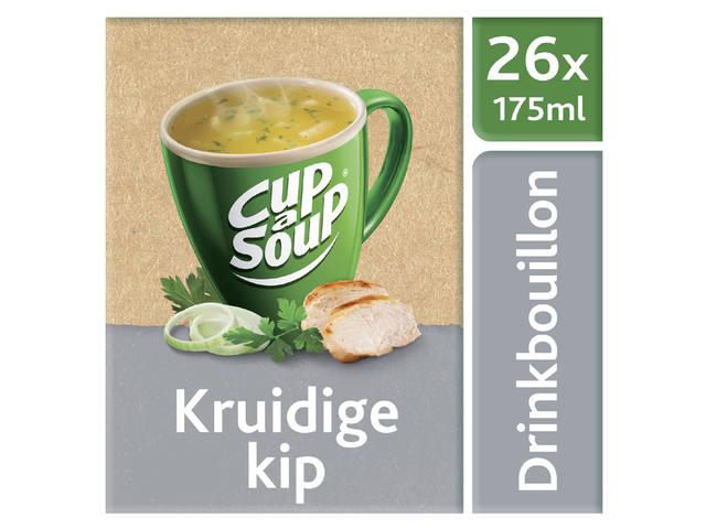 CUP A SOUP HELDERE BOUILLON KRUIDIGE KIP