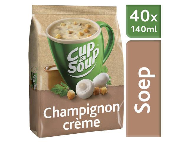 CUP A SOUP TBV DISPENSER CHAMPIGNON CREME 40 PS