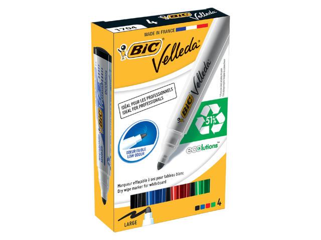 VILTSTIFT BIC 1704 WHITEBOARD ROND 1.4MM ASS 3
