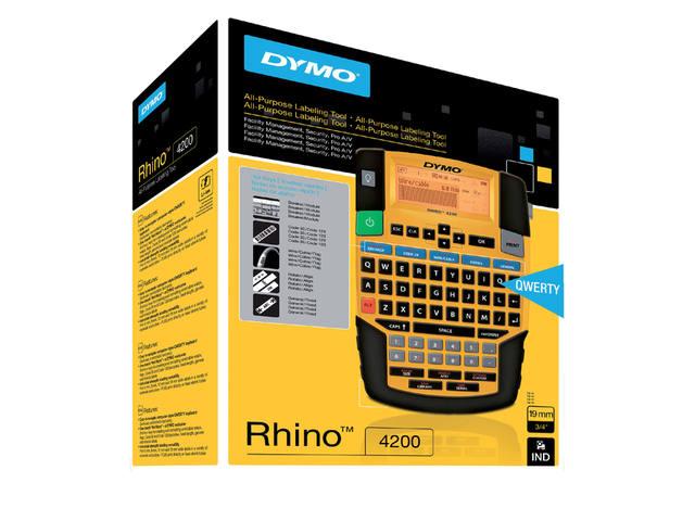 LABELPRINTER DYMO RHINO 4200 QWERTY 4