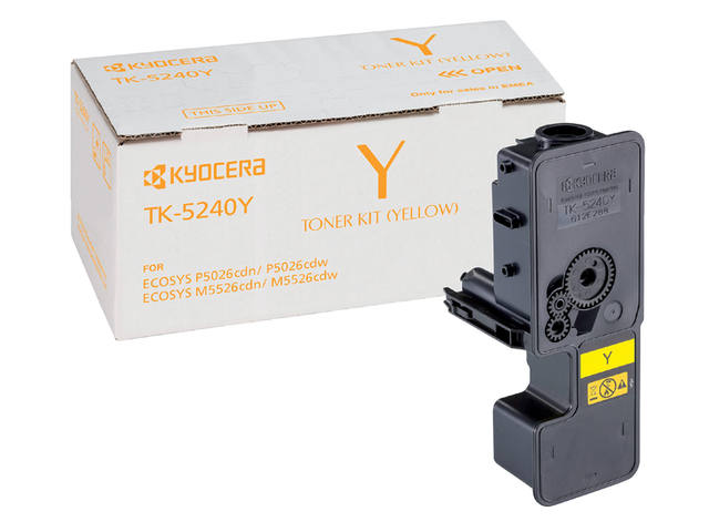 TONER KYOCERA TK-5240 3K GEEL