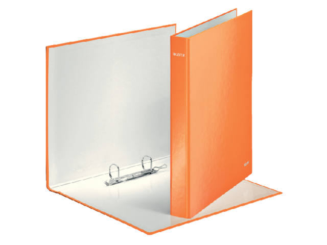 RINGBAND LEITZ WOW 4241 2RINGS A4 25MM ORANJE 1