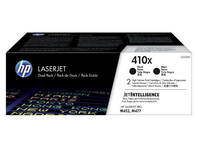 TONERCARTRIDGE HP 410X CF410XD 5.5K ZWART 1