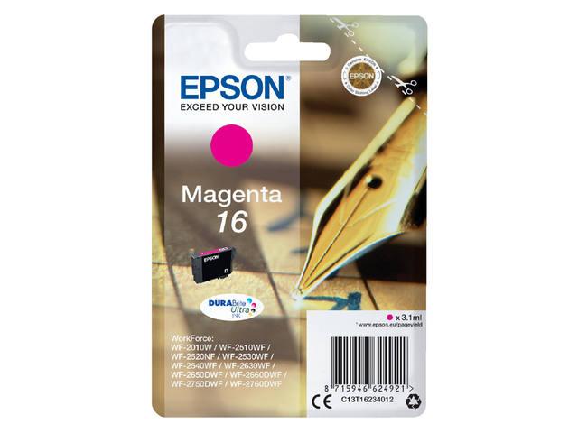 INKCARTRIDGE EPSON 16 T1623 ROOD 1