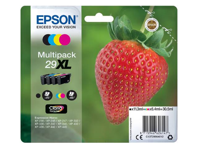 INKCARTRIDGE EPSON 29XL T2996 ZWART 3 KLEUREN