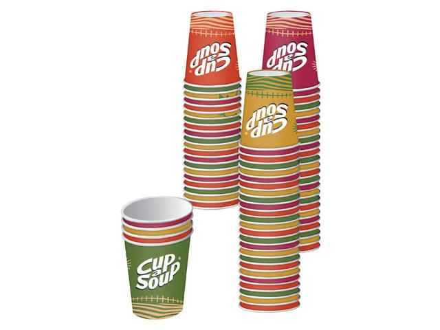 CUP A SOUP BEKER KARTON