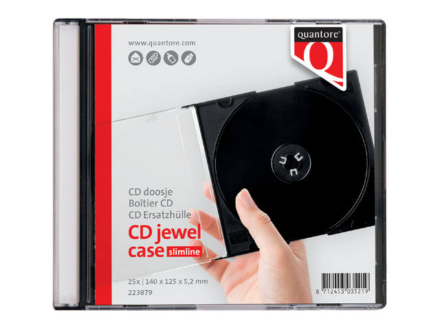 CD DOOS QUANTORE LEEG JEWELCASE
