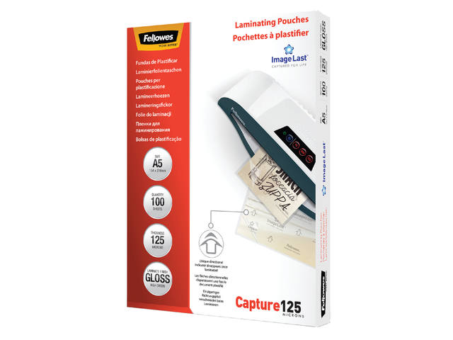 LAMINEERHOES FELLOWES A5 2X125MICRON
