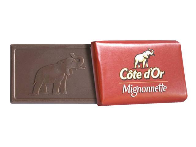 CHOCOLADE COTE D'OR 10GR MIGNONNETTE MELK MONO 2