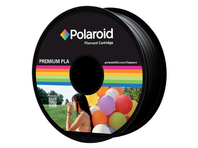 3D FILAMENT POLAROID 1.75MM PLA ZWART