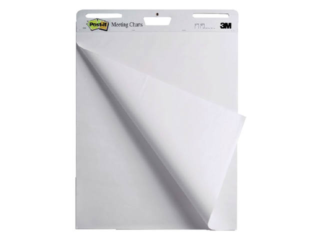 MEETING CHART 3M POST-IT 559 635X762MM BLANCO