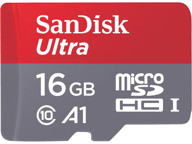 GEHEUGENKAART SANDISK MICRO SDXC ANDROID 16GB CL10