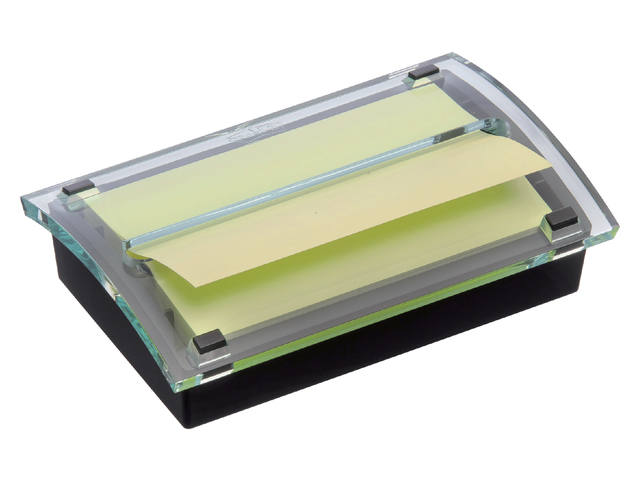 MEMOBLOKDISPENSER 3M POST-IT Z-NOTE C2015 ZWART/TR