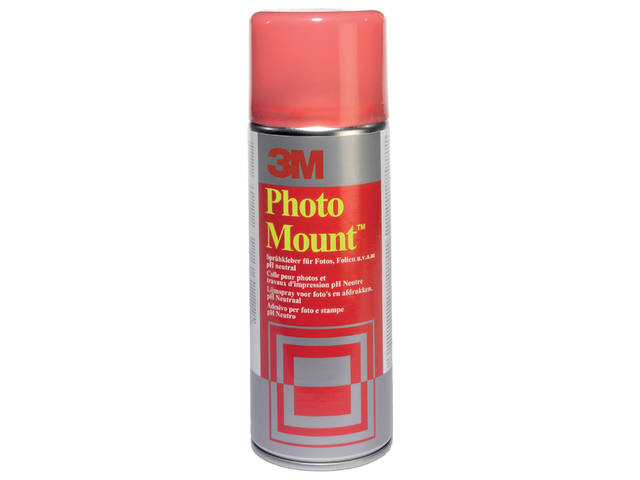 FOTOLIJM 3M FOTOMOUNT SPRAY 400ML