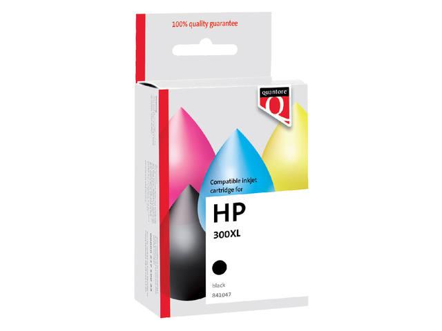 INKCARTRIDGE QUANTORE HP 300XL CC641EE HC ZWART