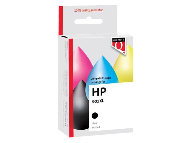 INKCARTRIDGE QUANTORE HP 901XL CC654AE HC ZWART 1