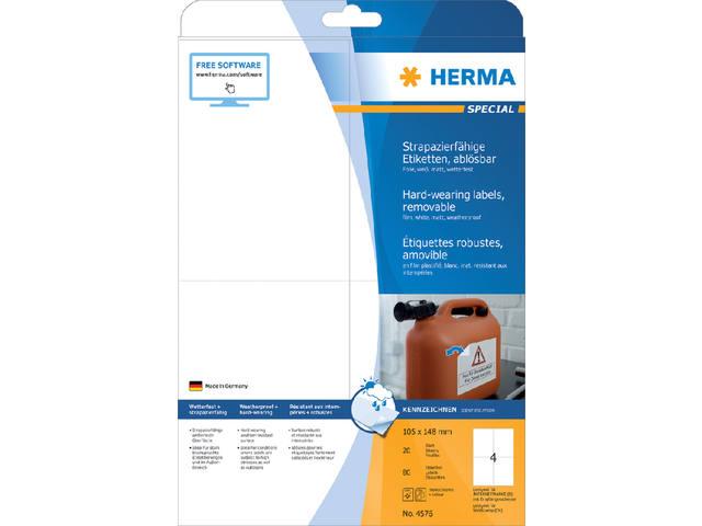 ETIKET HERMA 4576 105X148MM 80ST 2