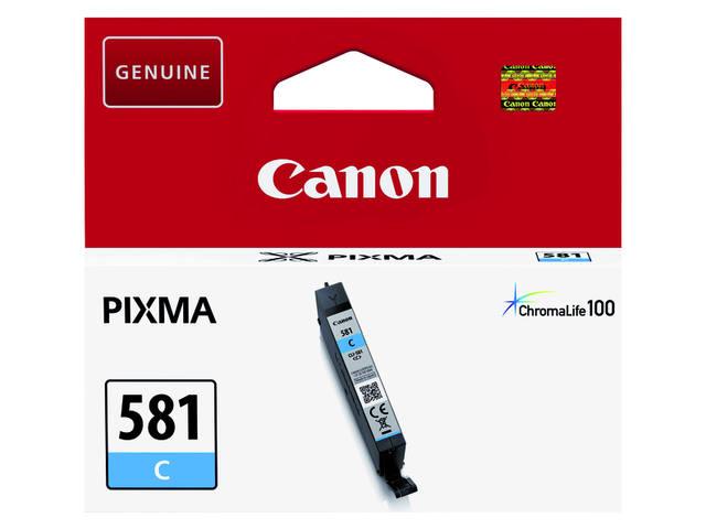 INKCARTRIDGE CANON CLI-581 BLAUW 3